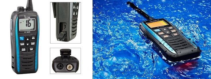 Risultati immagini per VHF portatile ICOM IC-M25