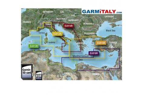 Garmin G2 Regular Mediterraneo SD-MicroSD