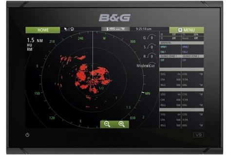 "B&G Vulcan 9 FS GPS/Chartplotter Display 9"""