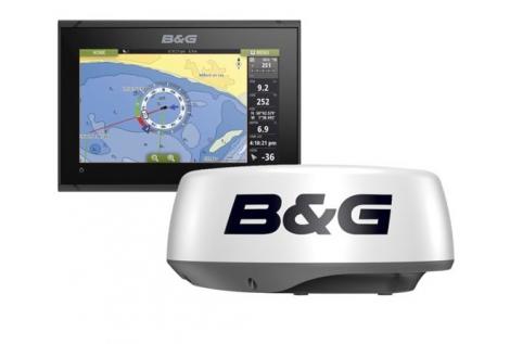 B&G Vulcan 9 FS Radar Pack con Halo 20