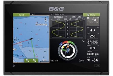 B&G Vulcan 9 Radar 3G Pack