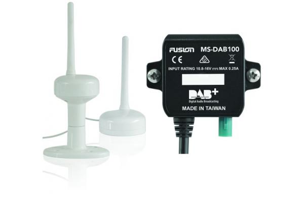 Fusion Modulo DAB con antenna DAB100