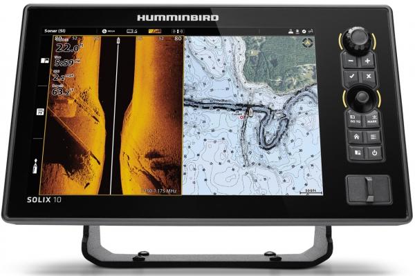 "Humminbird  SOLIX 10 CHIRP eco/GPS 10"""