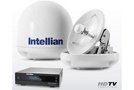 Intellian i6P Antenna TV SAT 60cm 4 Uscite