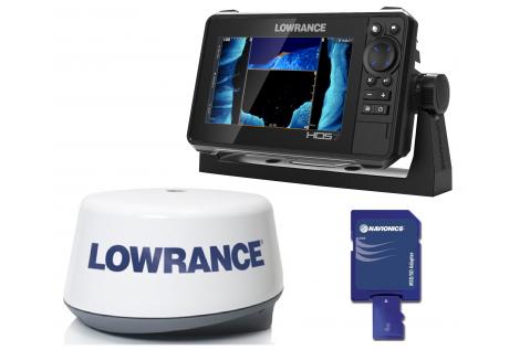 Lowrance HDS 7 LIVE RADAR 3G Pack