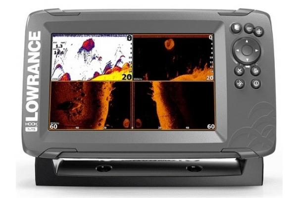 Lowrance Hook2 7 GPS/eco TripleShot TotalScan