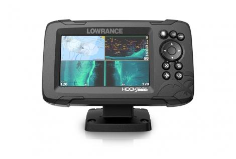 "Lowrance Hook Reveal 5 GPS/eco display 5"""