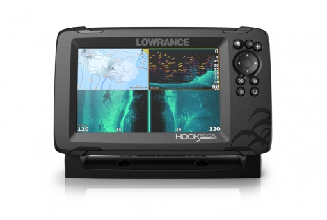 "Lowrance Hook Reveal 7 GPS/eco display 7"""