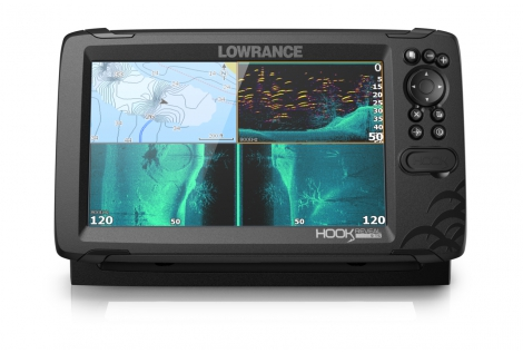 Lowrance Hook Reveal 9 GPS/eco display 9""