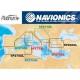 Navionics carta Platinum Plus 273XL Micro-SD Card