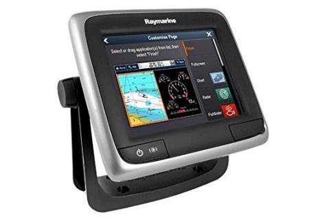 "Raymarine A67 WiFi usato Display 5.7"" GPS/eco"