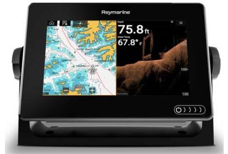 "Raymarine AXIOM 7DV e RV Display 7"" multifunzione"