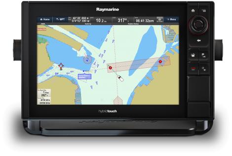 """Raymarine es127 Display 12"""" modulo eco incluso"""