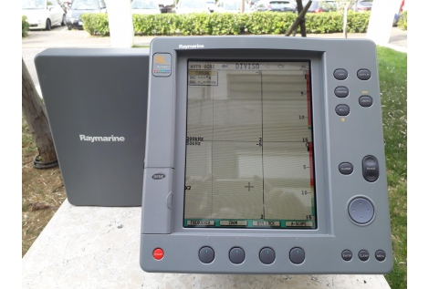 "Raymarine  Fishfinder SL1250C Display 10""  usato"