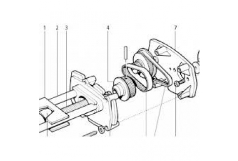 Raymarine Q054 kit ingranaggi ST1-2000