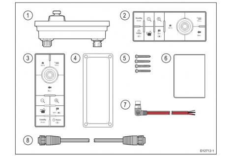 Raymarine RMK-10 tastiera remota