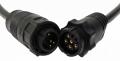 Simrad 9 pin M black / Xcdr to 7 pin blu F adapter