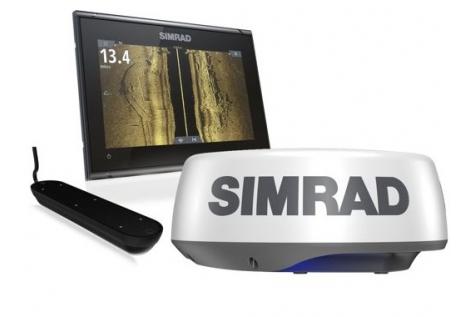 Simrad GO9 XSE Radar Pack con Halo 20+