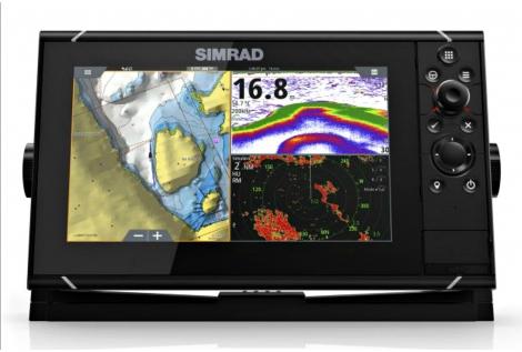 Simrad NSS 9 evo3 Radar 4G Pack
