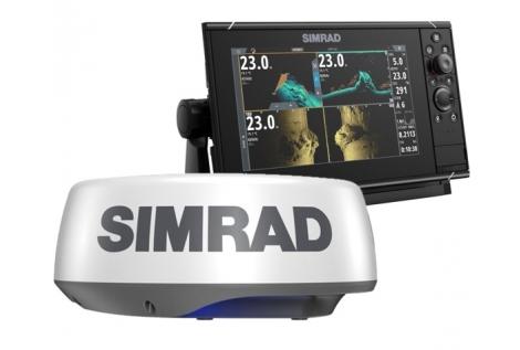 Simrad NSS 9 evo3S Radar Pack con Halo 20+