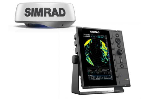 Simrad R2009 Radar solo Display e Halo 24